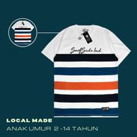 Kaos Anak Original Keren Umur 2-14 Tahun Simple Garis - 0139 KIDS, 2-3 tahun