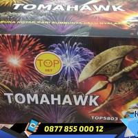 Kembang Api Cake TOP Tomahawk 100 shots 1.5 inch