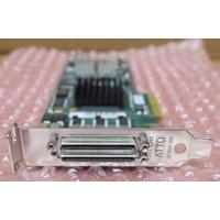 HP 593120-001 Dual Channel PCIe HBA AH627-60003 Atto Technology R-83