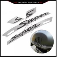 Stiker Decal Sepeda Motor, Stiker Super Sport Super untuk Vespa GTS 30