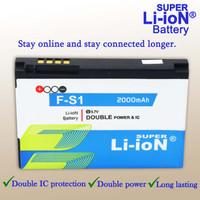 Super Li-ioN Baterai Blackberry 9800 Blackberry Torch Double Power