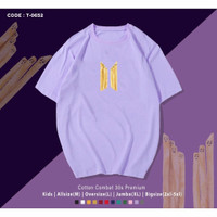 T-SHIRT/KAOS BTS MEAL FRENCH FRIED/UNISEX PREMIUM OVERSIZE/ARMY