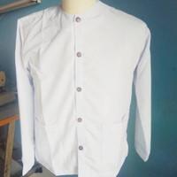 Baju pangsi khas sunda Putih/stelan pangsi M, L, XL