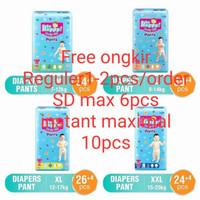 Popok Baby Happy Pants XXL 24+6 15-25kg /Termurah Berkualitas