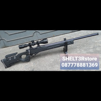pcp luger awp sniper black edition