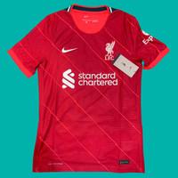 Original Jersey Liverp00l 2021 - 22 Home P2R Dri-Fit AD Baju Bola Asli