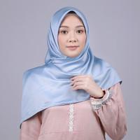 Zoya Kalandra Sparkling Scarf - Kerudung Hijab Segi Empat - LIGHT NAVY