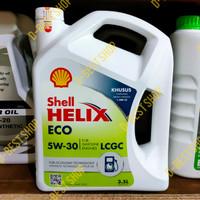 Oli Mesin Shell Helix ECO 5w-30 3.5liter AGYA,AYLA,SIGRA,CALYA