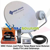 Antena Parabola Indovision - MNC Vision+LNB S-Band+Biaya pasang