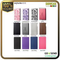 AviiQ Casing iPad Mini 1/2/3 Book Folio Stand Jeans Jux Slim Floral