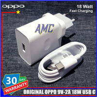 Charger Oppo A54 A92 A92s ORIGINAL 100% 18 Watt Fast Charging USB