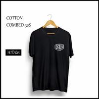Kaos Distro Deus Hitam T shirt distro murah original