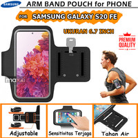 Samsung Galaxy S20 FE Armband Arm Band Sport Case Sarung Hp Olahraga