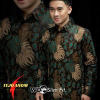 Baju Batik Pria Slim Fit Lengan Panjang Tejo Anom Style M L XL XXL