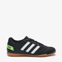 Adidas Super Sala Men's Indoor Soccer Shoes - Black/White/Green