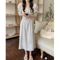 Dress 2496 Ready Stock   baju wanita import korea style casual