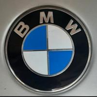 Emblem BMW Kap Mesin / Bagasi 82mm E30 E36 E46 E39 E34 Kualitas OEM