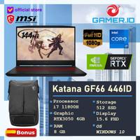 MSI Katana GF66 11UC 446ID   i7 11800H 8GB 512SSD RTX3050 4GB 144Hz