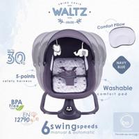 Makassar - Babyelle Waltz Swing Ayunan Bayi Elektrik Features - Navy Blue
