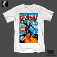 Kaos Band DEF LEPPARD - COMIC COVER