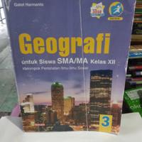 buku geografi SMA/ MA kelas 3-12 penerbit yrama Widya