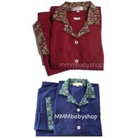 Baju Suster Celana Panjang BATIK S/M/L   Seragam Suster Babysitter