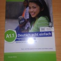 Buku Bahasa Jerman Deutsch Echt Einfach (DEE) A1.1 Belajar Bahasa