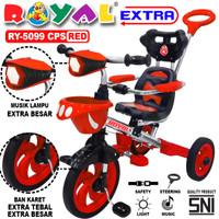 sepeda anak roda tiga 5099 - Merah