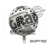 Balon Foil Graduation Wisuda / Balon Graduation / Balon Congrats Grad