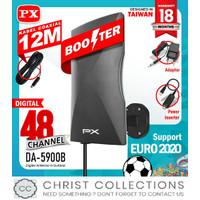 PX ANTENA TV DIGITAL INDOOR / OUTDOOR BOOSTER FREE KABEL 12M DA-5900B