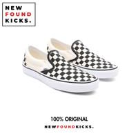 Vans Slip On Checkerboard Classic Black White Original