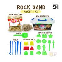 Mainan Anak Rock Sand 1 Kg | Pasir Ajaib | Mainan Edukasi