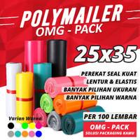 PLASTIK POLYMAILER 25x35 Kantong Packing Tebal Premium Onshop TERMURAH