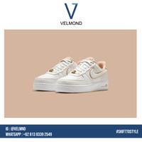 Sepatu Nike Air Force 1 Low LX Rose Gold White Putih Emas