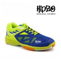 Sepatu Olahraga Pria Cowok Badminton Bulutangkis Original HIPZO M48