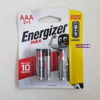 Baterai Energizer LR03/AAA isi 3 1.5V