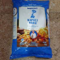 tepung terigu kunci biru 1 kg bogasari
