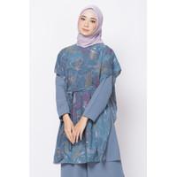 ZM Zaskia Mecca - Lulu Blue Tunik - Jelita Indonesia - Edisi Derawan