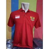Kaos kemeja polo timnas garuda baju bola indonesia