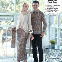 GRATIS ONGKIR Batik Couple Auurel- Sarimbit Baju Batik Kebaya Modern
