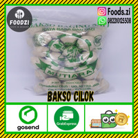 Bakso Daging Sapi Mutiara BLS Bakso Cilok isi 50 Butir