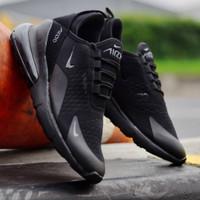 Sepatu Pria Sneakers Terbaru Nike Airmax 720 Impot Sekolah Sport Hitam