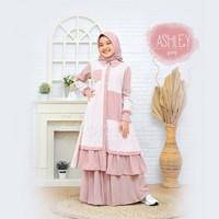 Baju Muslim Anak Perempuan Umur 9 tahun Setelan Anak ASHLEY 9-11 th