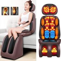 Kursi Pijat Kantor Mobil Sofa Elektrik Remote Massage Cushion 4 070-6