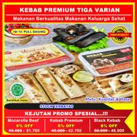 Kebab Premium Mozarella Beef,Kebab Frozen Premium,Kebab Black, Isi 10 - Kebab Premium