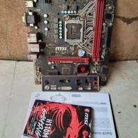 Motherboard Msi H110M Gaming Rusak