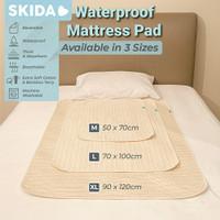 Skida Waterproof Pad Bamboo Changing Mat-Alas Ompol Perlak Bayi&Dewasa