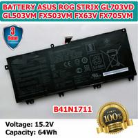 Baterai Asus ROG Strix GL703VD GL503VM FX503VM FX63V FX705VM B41N1711
