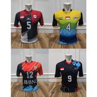 Baju Volly Proliga Kaos Olahraga Jersey Bola Voli Printing