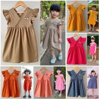 Dress Anak Bayi V Pelangi Size 1-5 Tahun Baju Anak Perempuan